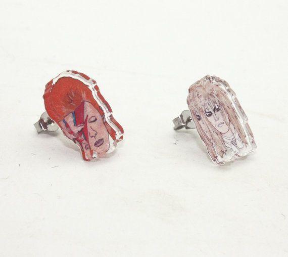 davidbowie earrings