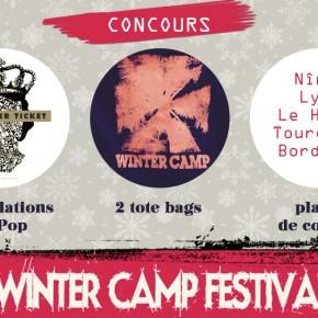 CONCOURS // Winter Camp // Places de concert, compiles et tote bags à gagner !
