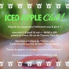 Concours // 2 x 2 places à gagner pour le Iced Apple Club les 11 & 12 mai 2016 à Paris