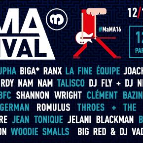 Concours // 2 x 2 pass 3 jours à gagner pour le MaMA festival 2016