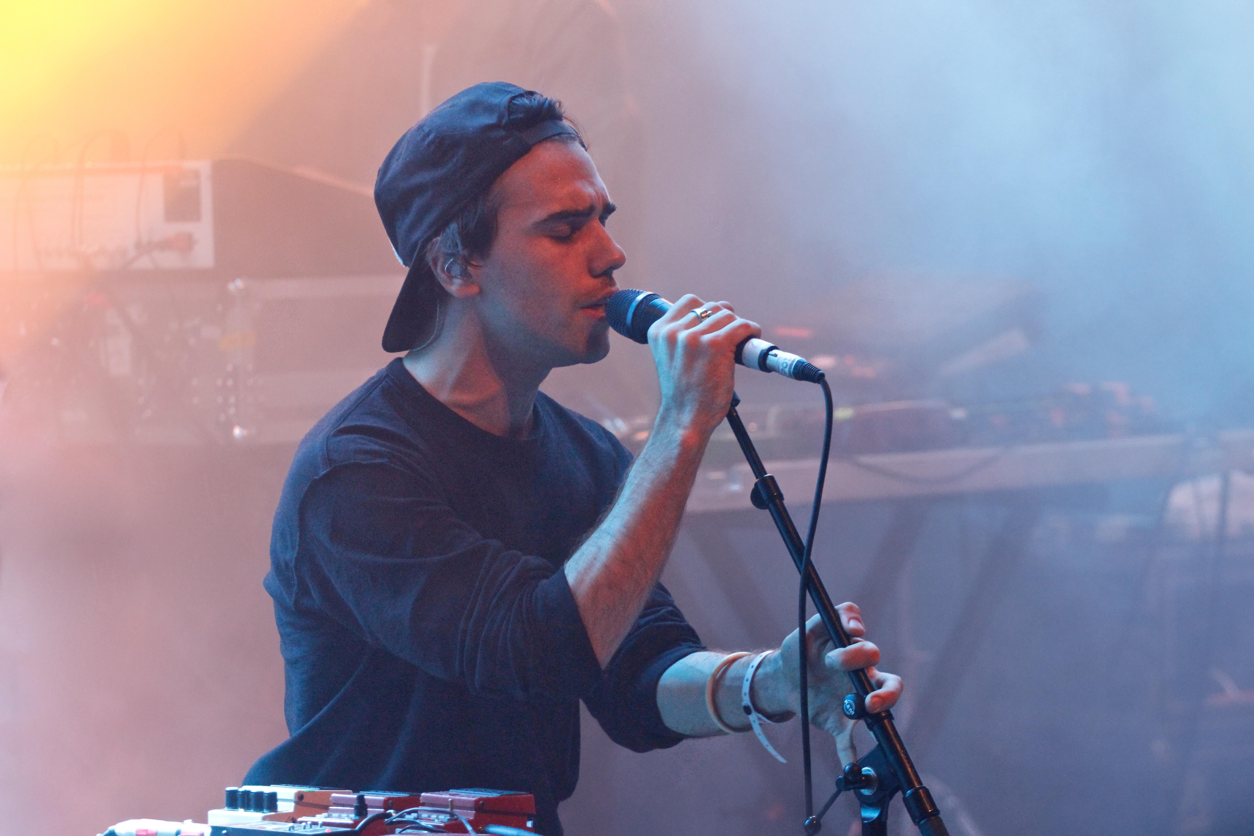 Jagwar Ma en concert au Inrocks Festival, à La Cigale, à Paris, le 19 novembre 2016 Jagwar Ma en concert au Inrocks Festival, à La Cigale, à Paris, le 19 novembre 2016