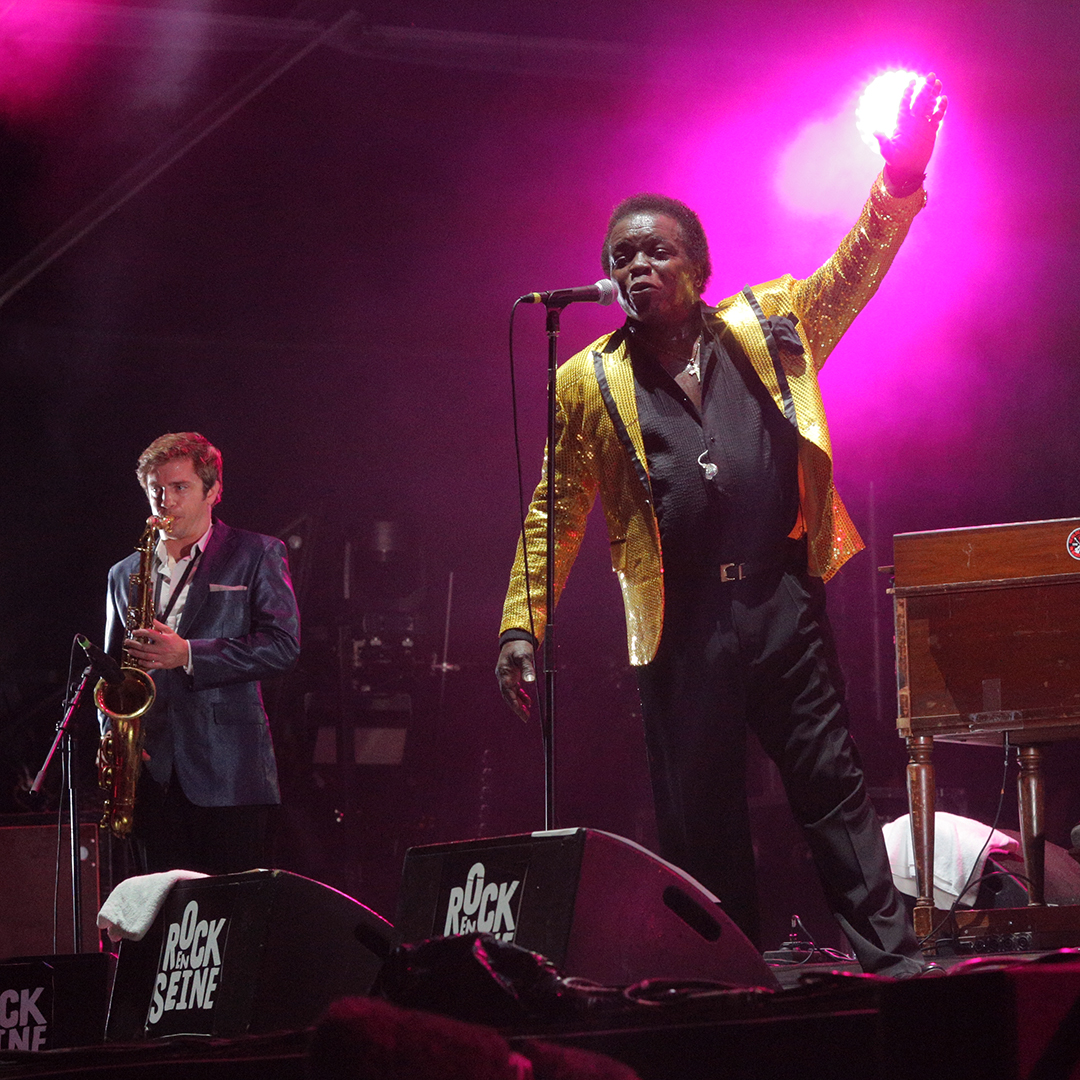 Lee Fields à Rock en Seine