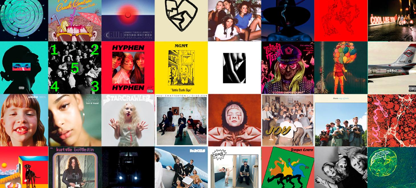 Top 25 des meilleurs albums de 2018