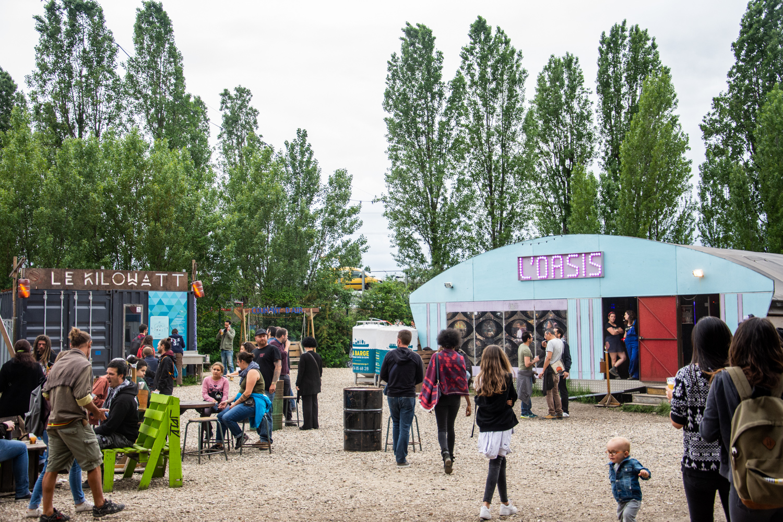 Sur les Pointes: un festival dans une ancienne centrale aux portes de Paris